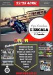 Cartel de 1ª Prueba Copa Catalana Karting La Escala