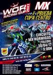 Cartel de 1ª Prueba copa Centro ANPA -Motocross- 2017