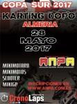 Cartel de 3ª Prueba Copa Sur Karting COPO