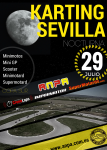 Cartel de 5ª Prueba Copa Sur Karting Sevilla (Nocturna)