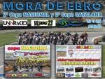 Cartel de 2ª Prueba Copa Nacional y Copa Catalana Circuito Mora d´Ebro
