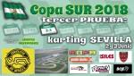 Cartel de 3ª Prueba Copa SUR Karting Sevilla 2018