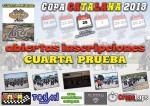 Cartel de 4ª Prueba Copa Catalana Circuito Menarguens Nocturna