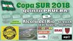 Cartel de 5ª Prueba Copa SUR NOCTURNA Karting Sevilla 2018