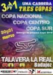 Cartel de 1ª Copa Nacional,Centro y Sur en Karting Talavera(Badajoz)