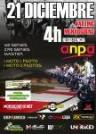 Cartel de 4H Resistencia Navideña en Karting Menarguens