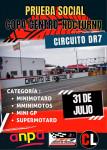 Cartel de SUSPENDIDA Nocturna Circuito DR7 2021