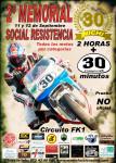 Cartel de 2º MEMORIAL NICHI #30 SOCIAL VELOCIDAD & RESISTENCIA